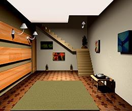 Der Platz, der durch Möbel gespart wird, kann anderweitig verwendet werden.